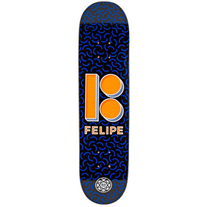 Plan B Shapes Black Ice Skateboard Deck - Felipe 7.625