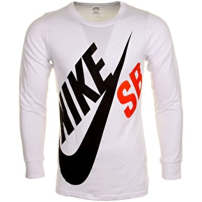 Nike SB Kids Big Logo T-Shirt - White