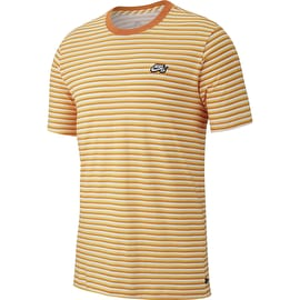 Nike SB Stripe T Shirt - White/Cinder Orange/White