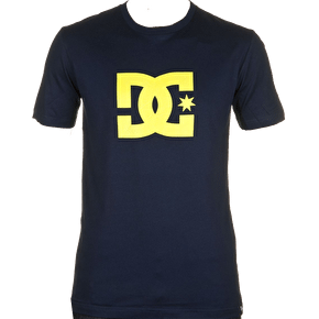 DC Logo Star T-Shirt - Navy / Yellow