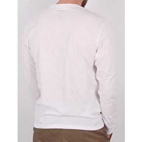 Element Tri Tip Longsleeve T-Shirt - Optic White