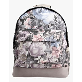 Mi-Pac Backpack - Winter Floral Light Grey