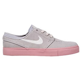 Nike SB Zoom Stefan Janoski Skate Shoes - Vast Grey/Phantom-Bubblegum-Bubblegum