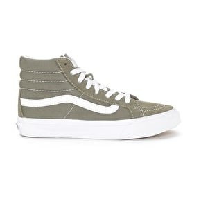 Vans SK8-Hi Skate Shoes - (Canvas) Grape Leaf