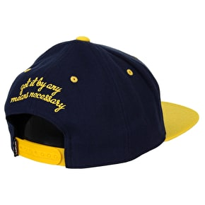 DGK By Any Means Cap - Navy/Yellow