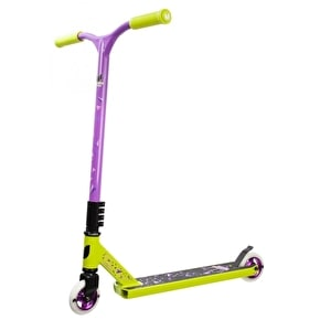 Blazer Pro Cyclone Complete Scooter - Green/Purple