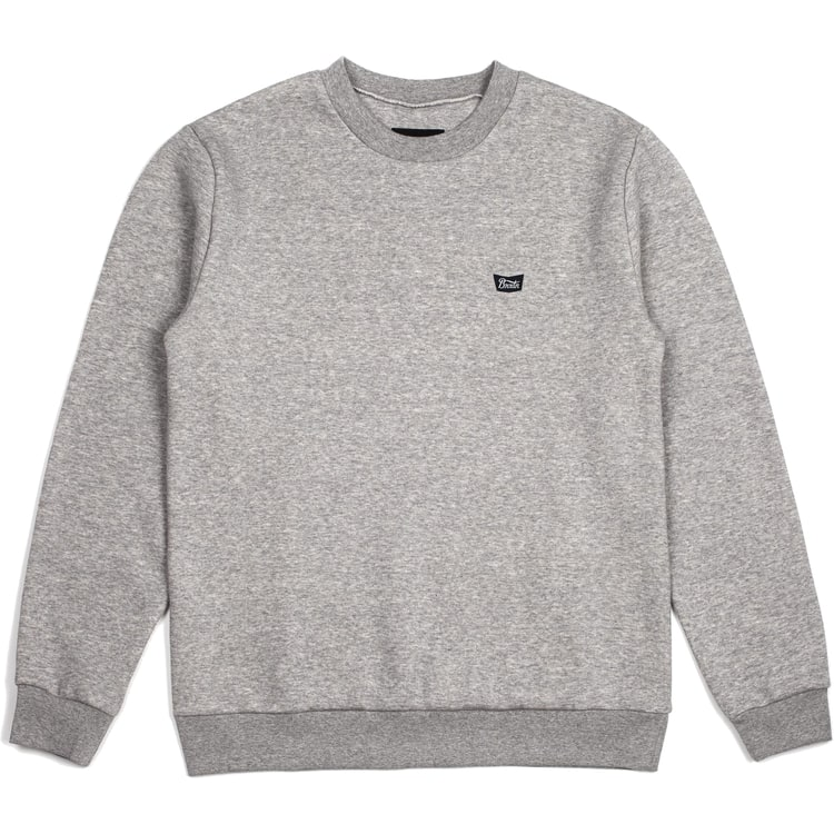 Brixton Stith WL Crew Neck - Heather Grey