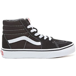 Vans Sk8-Hi Kids Skate Shoes - Black/White
