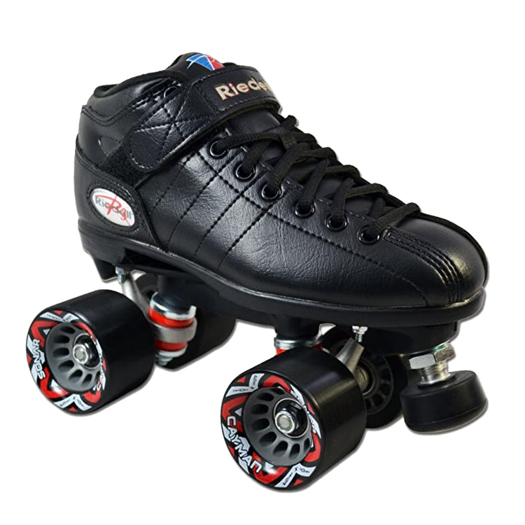 Riedell R3 Speed Roller Skates - Black