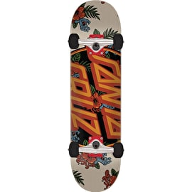 Santa Cruz Vacation Dot Mini Complete Skateboard - 7.5
