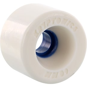 Kryptonics Star Trac Skateboard Wheels - White/Blue 60mm (Pack of 4)