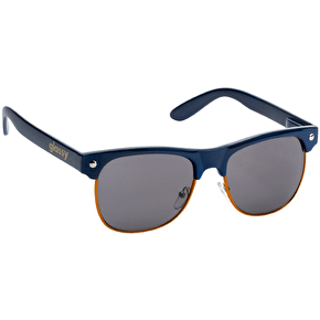 Glassy Sunhaters Shredder - Navy/Orange Trim