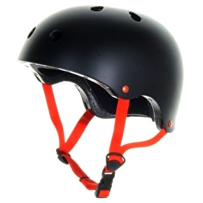 B-Stock Skatehut Essentials Helmet - Black/Red - L / XL (Box Damage)