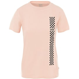 Vans Funday Basic Crew Womens T Shirt - Rose Cloud