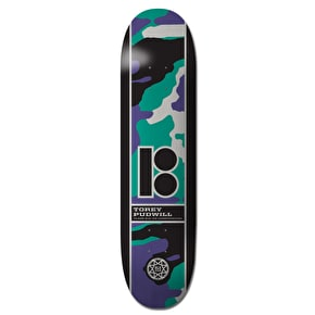 Plan B BLKICE Pudwill Camo Skateboard Deck - 8.25