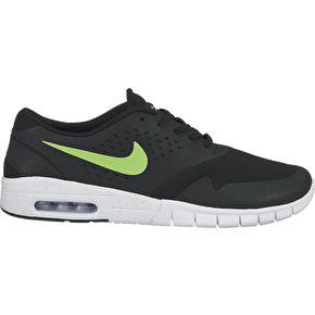 Nike SB Eric Koston 2 Max Shoes - Black/Flash Lime