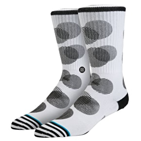 Stance Speck Socks - White