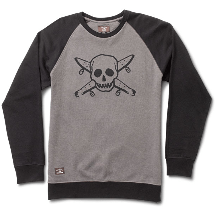 Fourstar Street Pirate Crew Sweater - Black