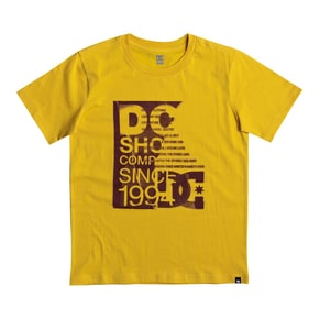 DC Disturbed Board Kids T-Shirt - Old Gold