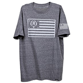 Rook Sickle Flag T-Shirt - Heather Grey