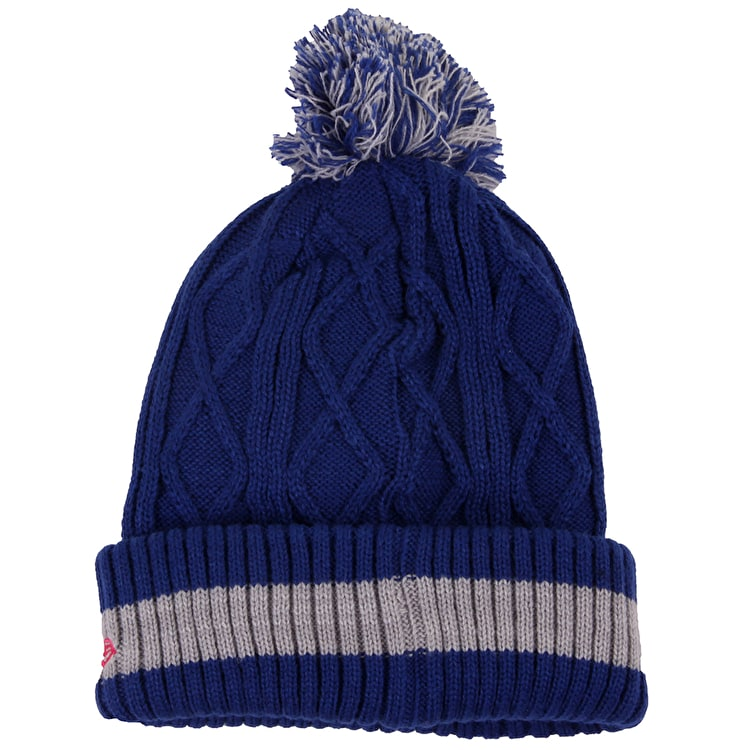New Era Women's Beanie - NY Yankes Team Plait Knit