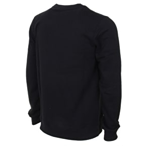 WeSC Icon Crewneck Sweatshirt - Black