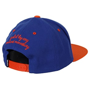 DGK By Any Means Cap - Royal/Orange