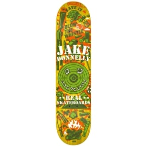 Real Overlay Skateboard Deck - Donnelly 8.12