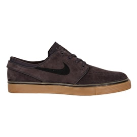 Nike SB Zoom Stefan Janoski Skate Shoes - Thunder Grey/Black Gum/Light Brown
