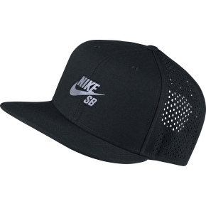 Nike SB Performance Trucker Cap - Black/Reflective Silver