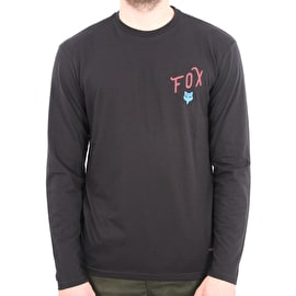 Fox Currently Long Sleeve T-Shirt - Black