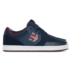 Etnies Marana Kids Skate Shoes - Blue/Red/White