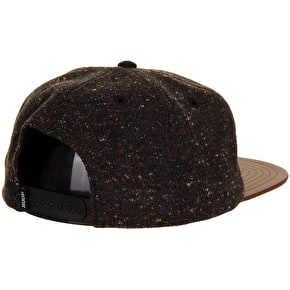 Rook Gram Snapback Cap - Grey Tweed