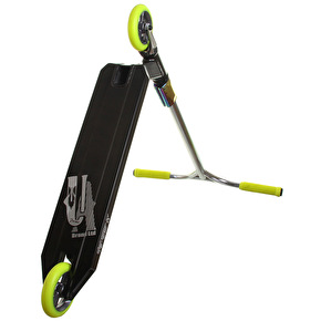 UrbanArtt Custom Scooter - Mirror Black/Lime