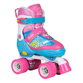 Rookie Fab Adjustable Quad Roller Skates - Blue/Pink