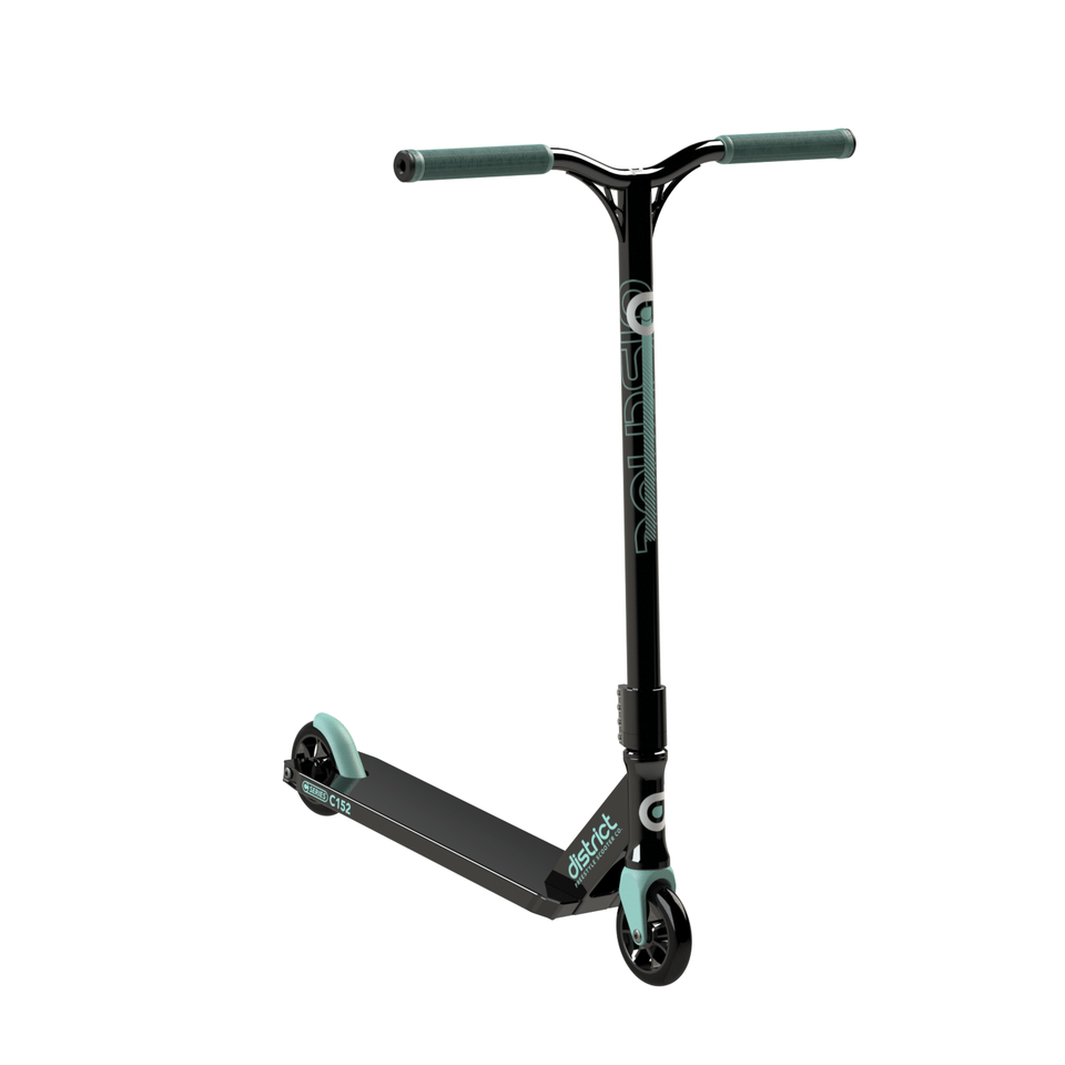 Image of District C-Series C152 Complete Scooter - Black/Mint
