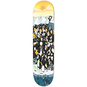 Enjoi Penguin Party Skateboard Deck - Raemers 8.0