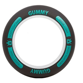Rogue Ultrex 110mm Gummy Wheel Ring - Black/Aqua