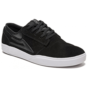 Lakai x Isle Griffin XLK Shoes - Black/White/Suede