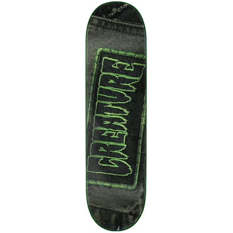 Creature Patched Skateboard Deck - 8.375""