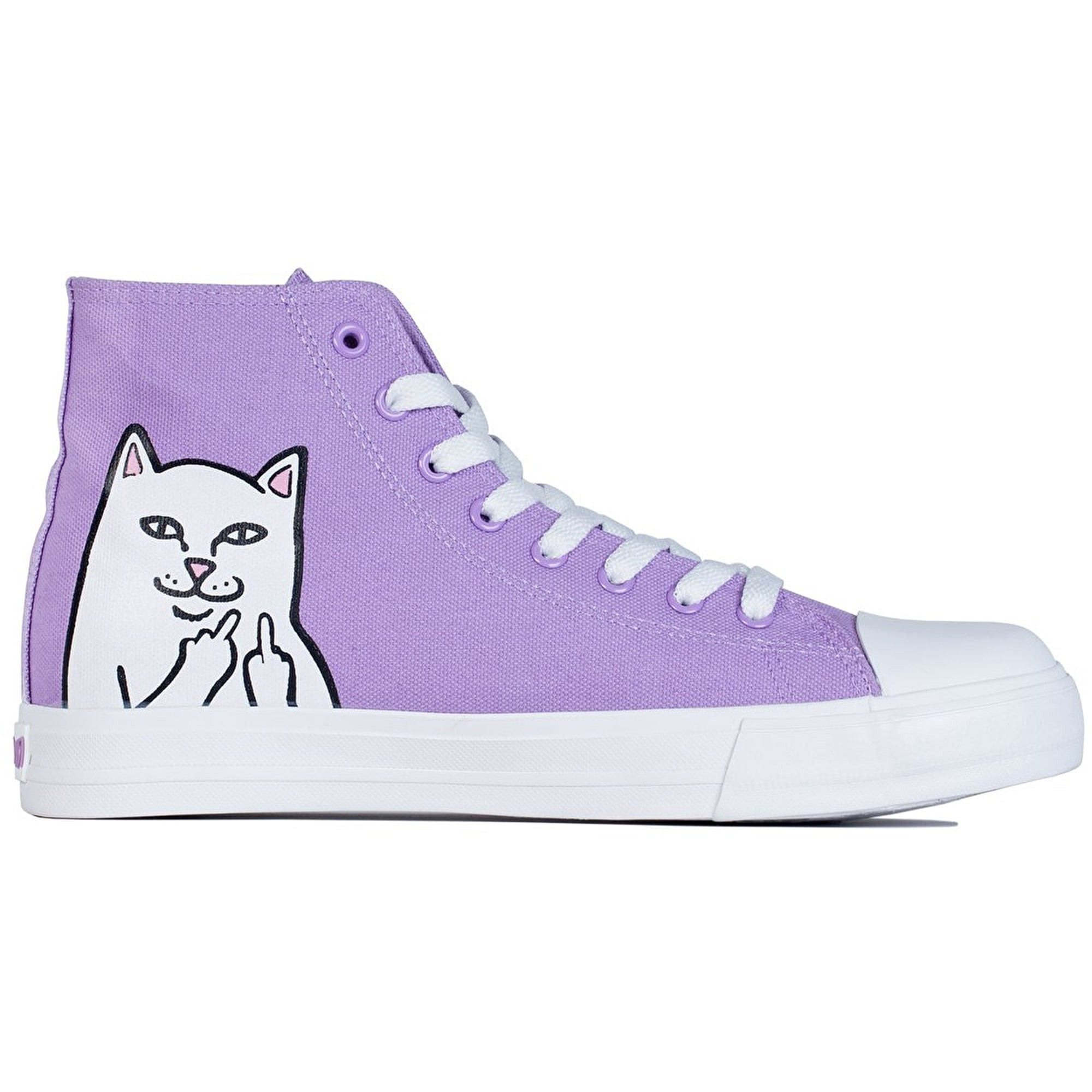 Ripndip Nerm High Top Skate Shoes Lavender Ripndip
