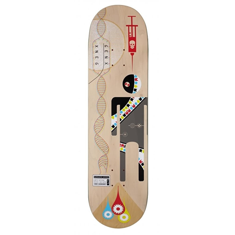 Alien Workshop Series Skateboard Deck - Damaged Goods Genetic 8.375""