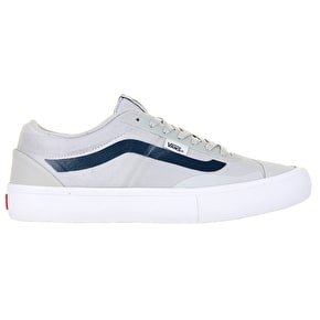 Vans AV RapidWeld Pro L Skate Shoes - Light Grey/White