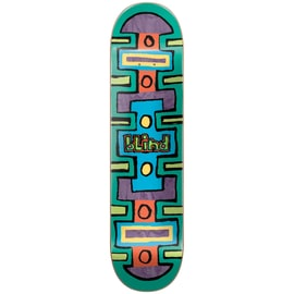 Blind Square Space Skateboard Deck - Green 8.25
