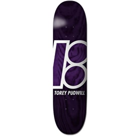 Plan B Stained Skateboard Deck - Pudwill 8.25