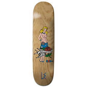 Life Extension Pin Up Skateboard Deck - Duncombe 8.5