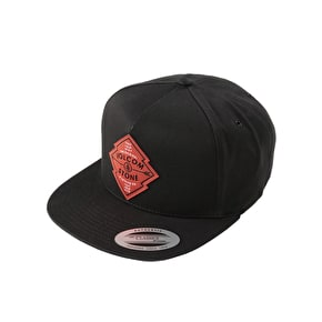 Volcom Jamboree 6 Panel Cap - Black