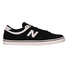 New Balance Quincy 254 Skate Shoes - Black/Sea Salt