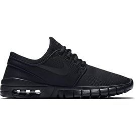 Nike SB Stefan Janoski Max Kids Shoes - Black/Black