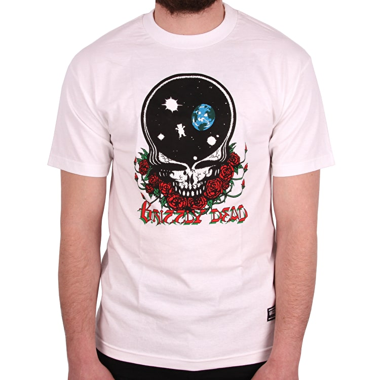 Grizzly x Grateful Dead Your Face T shirt - White